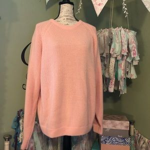 Vintage pink Brittania sweater size large